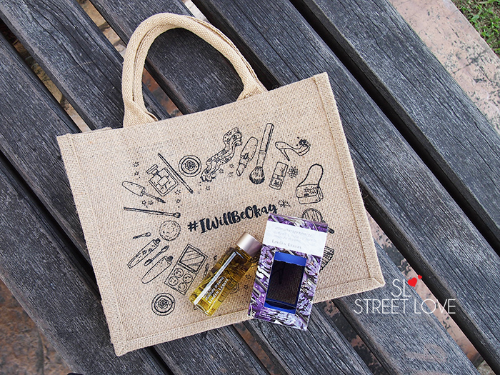 #IWillBeOkay Beauty Bag 5