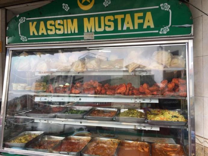 Tandoori Naan Set at Kaasim Mustafa Nasi Kandar