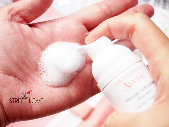 Avene Gentle Cleansing Foam 2