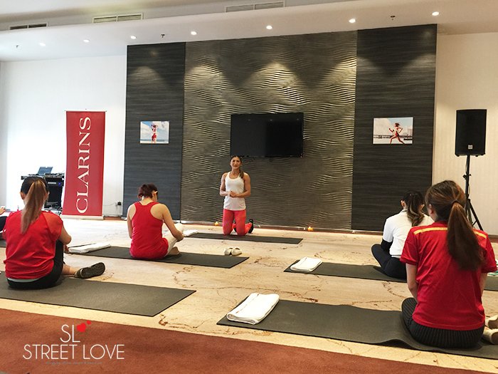 Clarins Body Fit Launch Media Trip 17