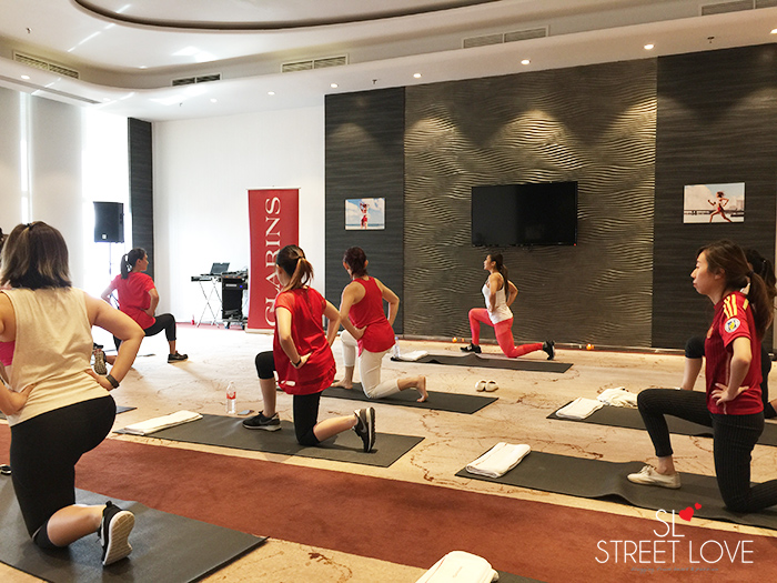 Clarins Body Fit Launch Media Trip 21