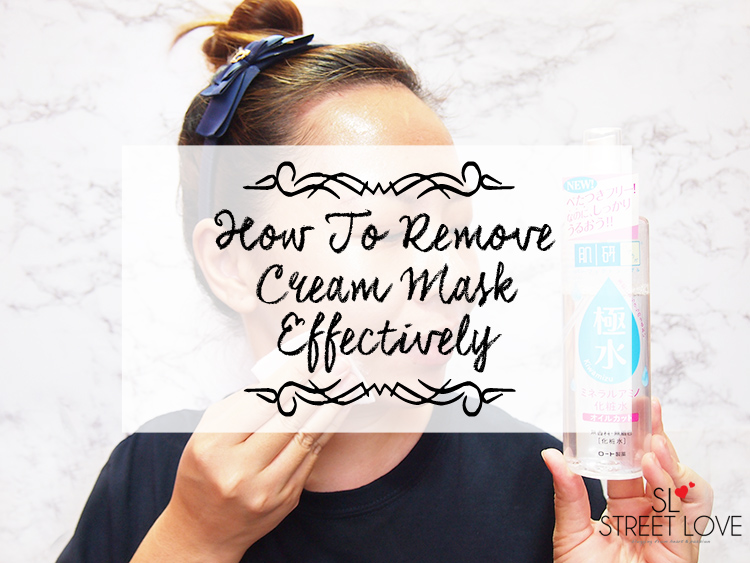 How To Remove Cream Mask Effectively 1