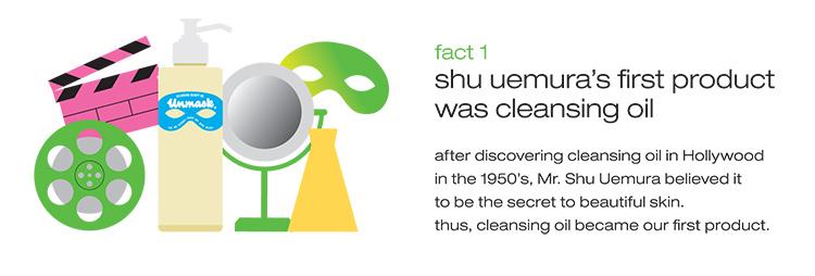 Shu Uemura Cleansing Oils Fact 1