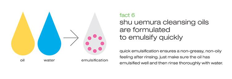 Shu Uemura Cleansing Oils Fact 6