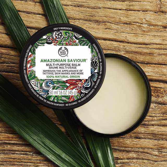 The Body Shop Amazonian Saviour™ Multi-Purpose Balm Texture