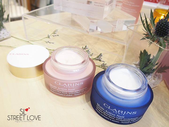 Clarins Multi-Active Cream Texture