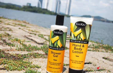 Shikai Yuzu Moisturizing Shower Gel and Yuzu Moisturizing Hand Body Lotion