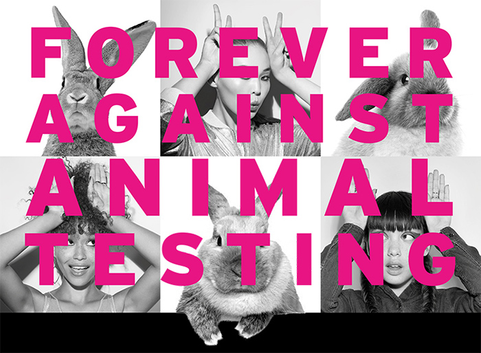 The Body Shop Forever Against Animal Testing Campaign