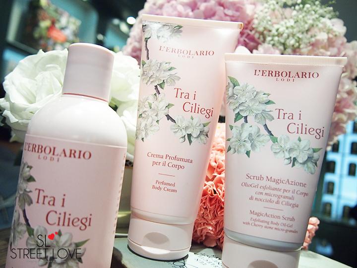 L'Erbolario Tra i Ciliegi Perfumed Body Cream