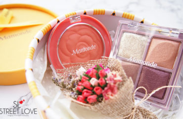 Mamonde Flower Pop Eye Brick and Flower Pop Blusher