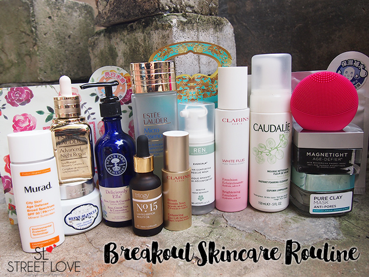 Breakout Skincare Routine Full