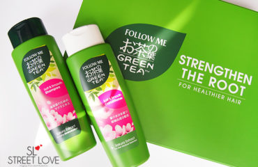 Follow Me Green Tea Hair Care