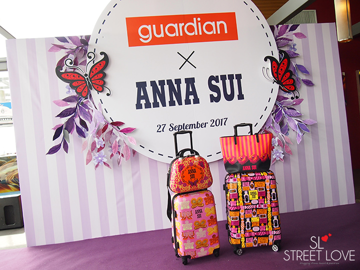 Guardian Anna Sui Luggage Collection 2