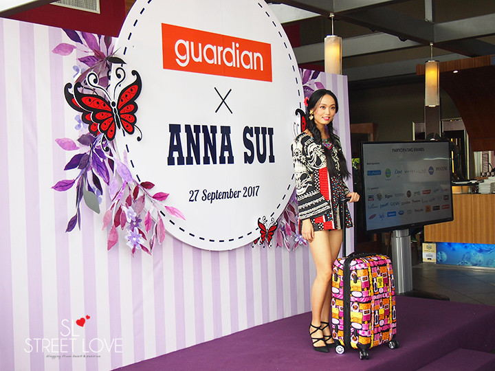 Guardian Anna Sui Luggage Collection 3