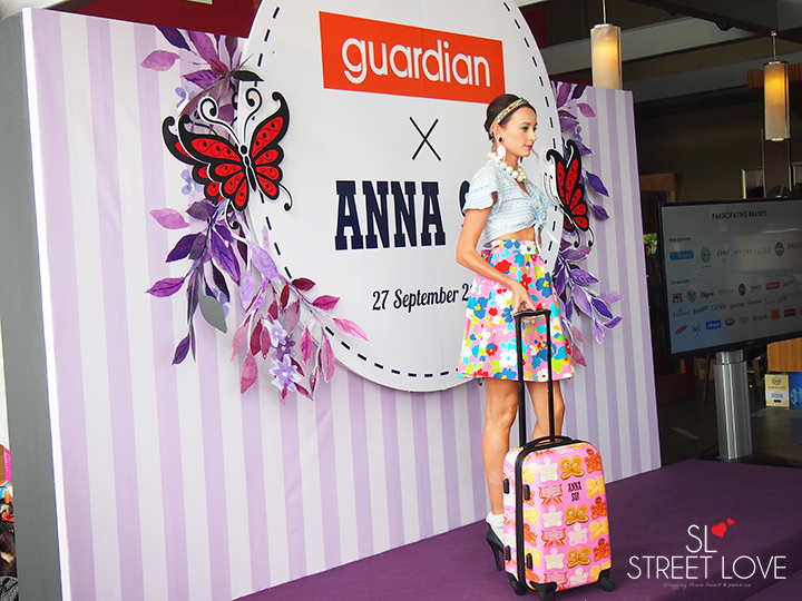 Guardian Anna Sui Luggage Collection 4