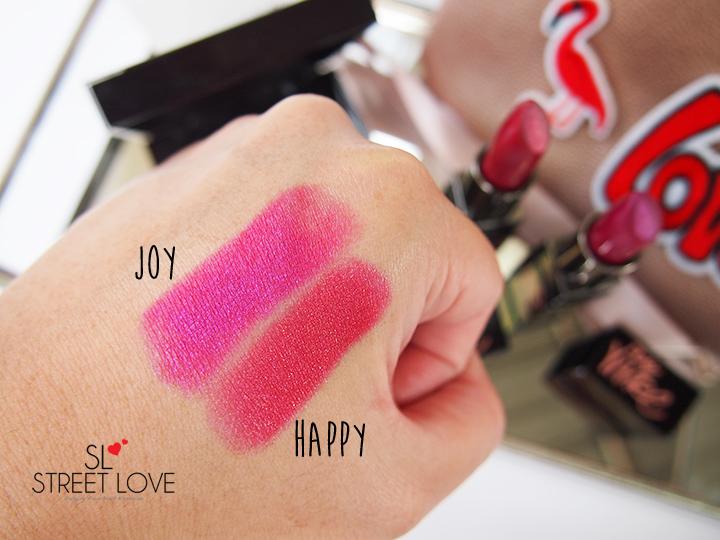 Laura Mercier Joie de Vivre Velour Lovers Lip Colour Swatches