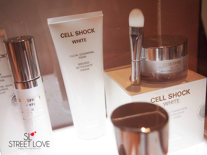 Swiss Line Cell Shock White Facial Cleansing Foam