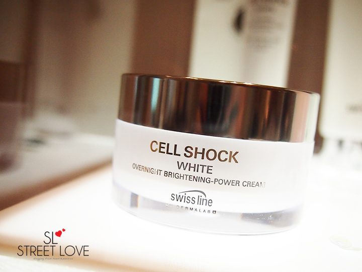 Swiss Line Cell Shock White Overnight Brightening Power Cream