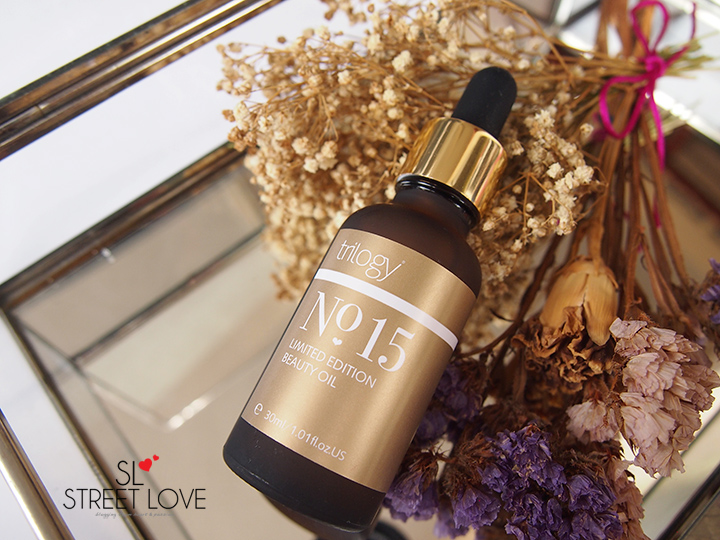 Trilogy No. 15 Limited Edition Beauty Oil Bottle